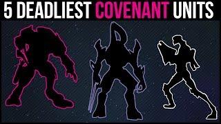 5 Deadliest Elite Covenant Military Units | Halo Lore Explained - dooclip.me
