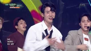뮤직뱅크 Music Bank - 청개구리(Naughty boy) - 펜타곤(PENTAGON) .20180928