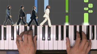 Hey Jude (The Beatles) Easy Piano Tutorial