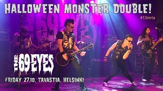 The 69 Eyes - Fraimed In Blood / Don't Turn Your Back On Fear @ Tavastia, Helsinki