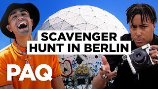 We Unlocked Berlin's Secrets... SCAVENGER HUNT CHALLENGE (ft. HUGO) | PAQ EP#38