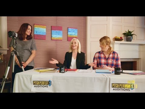 Nicole Blume - Auditions with Elizabeth Banks - Go Pitch Yourself Winner #3