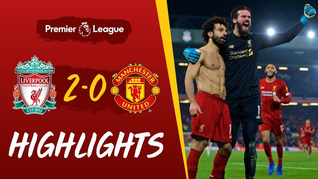 Hasil Liverpool Vs Manchester United 2 0