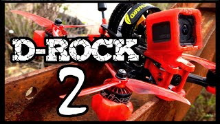 D-ROCK 2 READY TO ROCK // DRONE FPV FREESTYLE FRAME by DAVIDE FPV & MY FRAME FPV