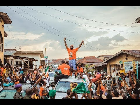 Davido pulls out massive crowd to campaign for his Uncle,  Senator Adeleke.