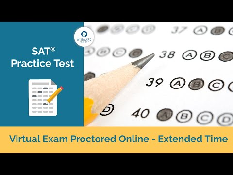 SAT Practice Test - Proctored with Extended Time - YouTube