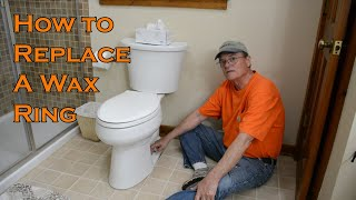 How to fix a leaky commode easily.