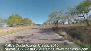 preview picture of video 'Rallye Costa Azahar Classic 2015. Nuevo TC 7 Costur - Vilafamés'