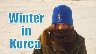 WINTER IN KOREA (Getting dressed to play outside in the snow)