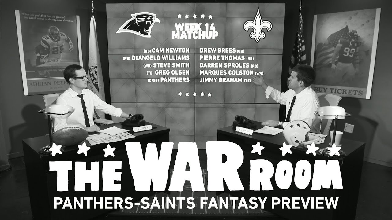 Panthers vs Saints Sunday Night Football Fantasy Preview - The War Room thumbnail