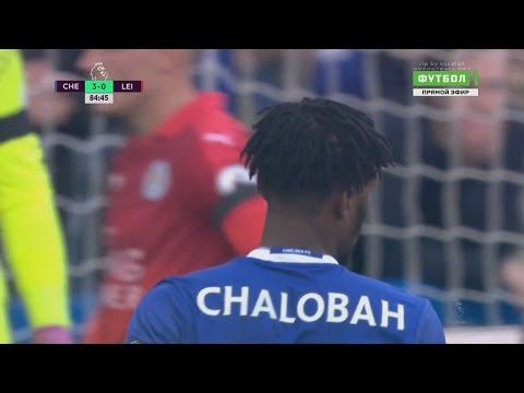 Nathaniel Chalobah vs Leicester (H) 15.10.2016 HD 720p 50fps