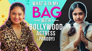 Whats In My Bag? Ft. Bollywood Actress // Parody // Captain Nick
