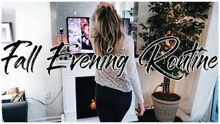 FALL Cozy Night Routine 2018 | Renee Amberg