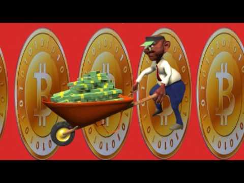 Senhor Carregando Dineiro   Bitcoins
