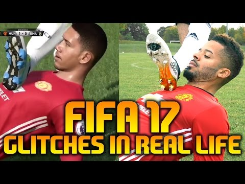 Футболисты воспроизвели самые смешные анимационные глюки FIFA 17