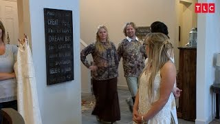 Is Bohemian Camouflage A Good Look For A Wedding? | Sister Wives