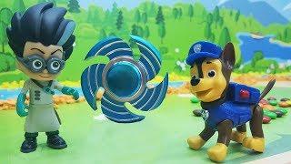 Щенячий Патруль (paw patrol toys) - Гипнотический спиннер!Мультики для детей про машинки с игрушками