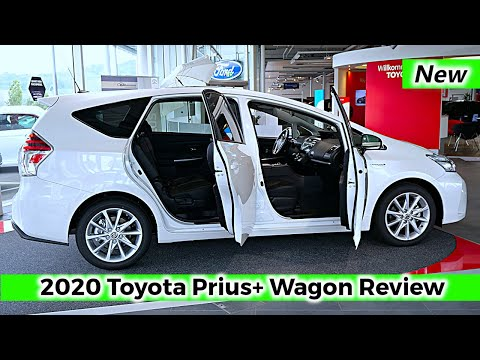 New Toyota PRIUS+ Plus Wagon 2020 Review Interior Exterior