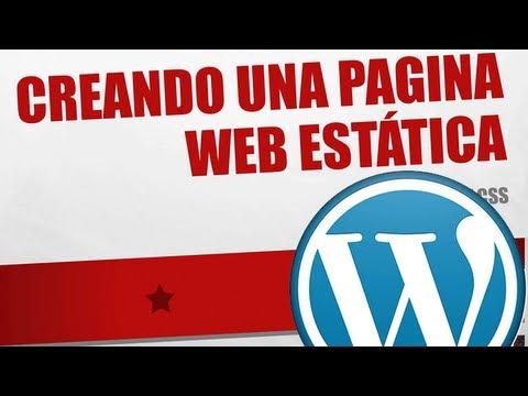 CREAR UNA WEB | Plantilla estática (HTML)