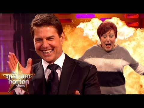 Tom Cruise Teaches Audience Members How to Do Stunts | The Graham Norton Show