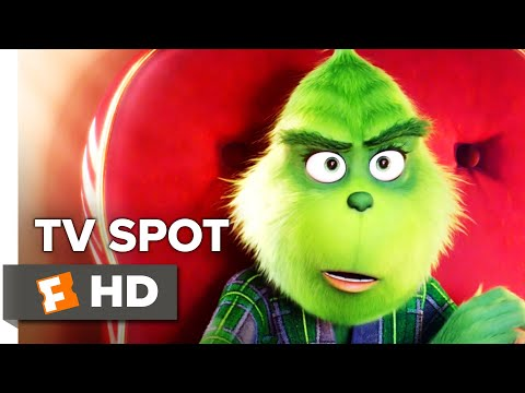 NBC Commercial for The Grinch, and Winter Olympic Games (PyeongChang 2018) (2018) (Television Commercial)