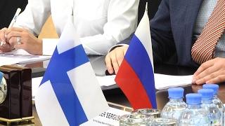 Финская делегация в Череповце