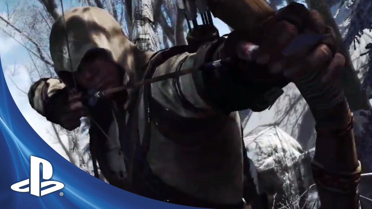 Assassin's Creed III at E3 2012: New Trailer, Exclusive PS3 Single-Player Missions
