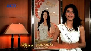 Sere Kalina Florencia Sitorus for Miss Indonesia 2015