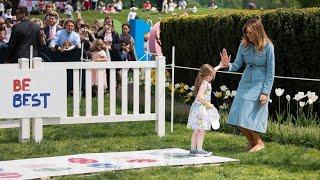 Traditioneller Osterspaß im Weißen Haus