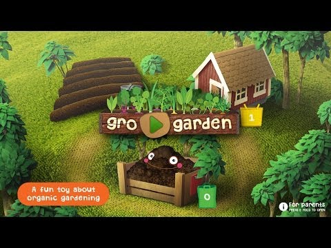 GRO GARDEN – a NEW kids app to discover ORGANIC GARDENING