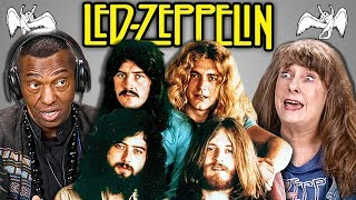 ELDERS REACT TO KIDS REACT TO LED ZEPPELIN