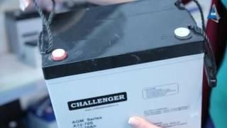 Аккумулятор Challenger А12-70S от компании ПКФ «Электромотор» - видео