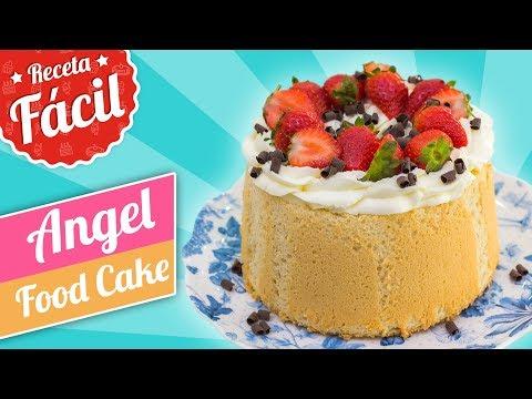 ANGEL FOOD CAKE | Receta fácil | Quiero Cupcakes!