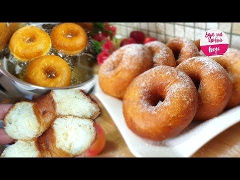 Лёгкий рецепт пончиков