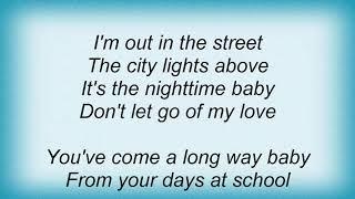 Josh Rouse - It's The Nighttime Lyrics
