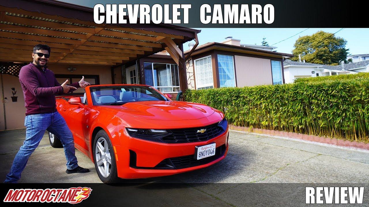 Motoroctane Youtube Video - Chevrolet Camaro - American Muscle Review | Hindi | MotorOctane