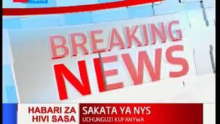 BREAKING NEWS: PS Omollo, NYS Director-General Ndubai  step aside over Ksh9 billion scandal
