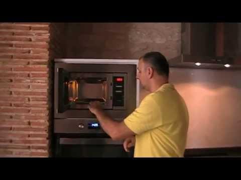 Como Instalar un horno microondas integrado.