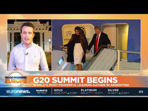 G20 Summit: World's most powerful leaders gather in Argentina | #GME