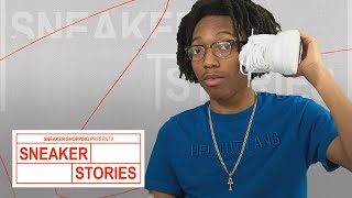 Lil Tecca Shows Off His Favorite Sneakers, Talks Off Whites and Nike Mags On Sneaker Stories