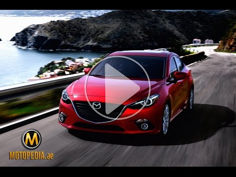 2014 Mazda 3 review -تجربة مازدا 3 2014 - Dubai UAE Car Review by Motopedia.ae