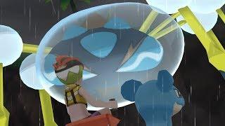 Araquanid  - (Pokémon) - Pokemon Ultra Moon: Totem Araquanid Boss Fight (4K)