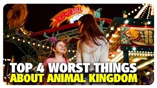 TOP 4 WORST Things About Disney's Animal Kingdom | Best and Worst | 04/26/19