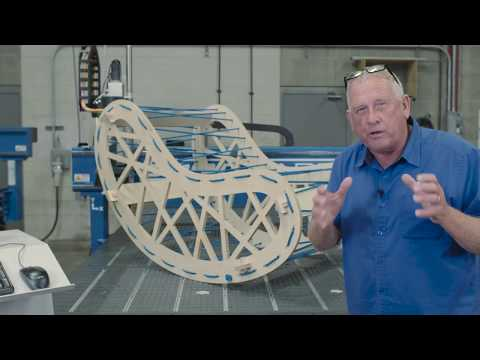 ShopSabre CNC – Vectric Bean Chair Projectvideo thumb