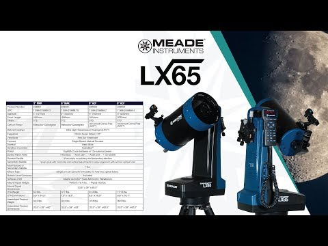INTRODUCING THE MEADE LX65