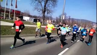 preview picture of video 'Pécs - Harkány futóverseny 2015'