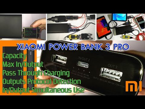 Unboxing & In/Output Test of Xiaomi Power Bank 3 Pro USB-C with PD port