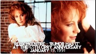 Reba McEntire - Rumor Has It [Live][1991]
