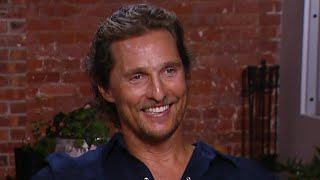 EXCLUSIVE: Matthew McConaughey on Why It's So Important to Bring His Family to Work