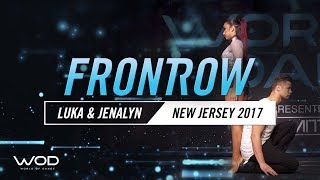 Luka & Jenalyn | FrontRow | World of Dance New Jersey 2017 | #WODNJ17
